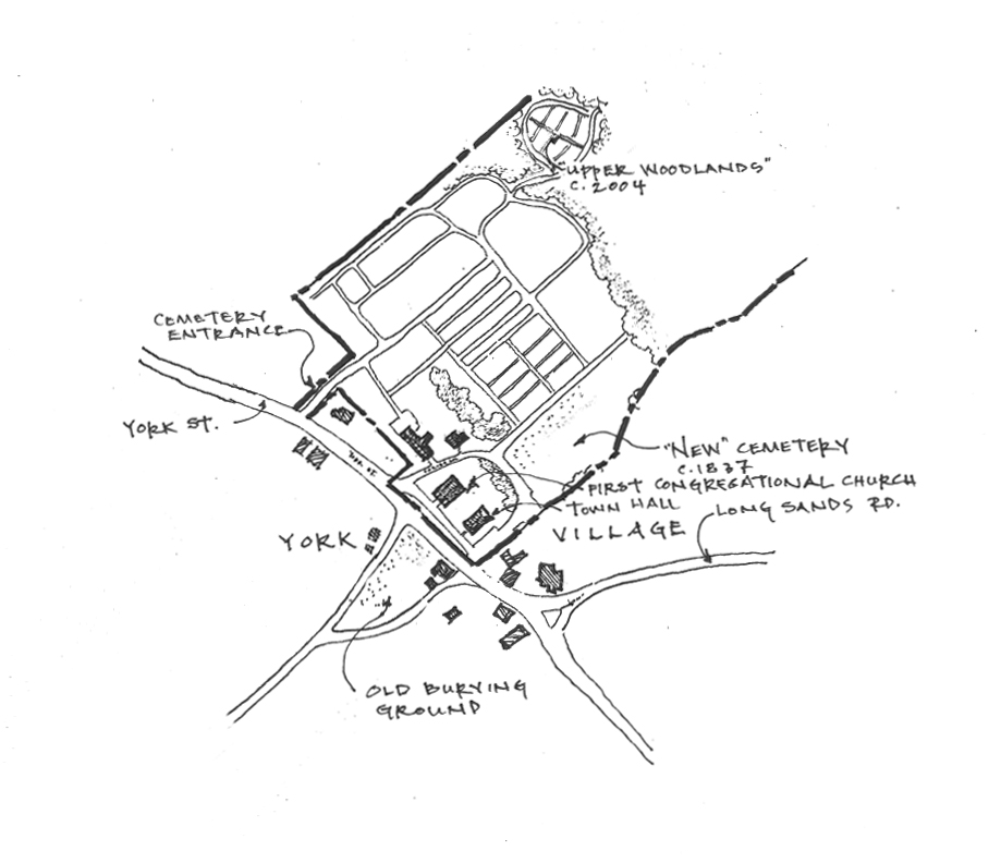 Existing Cemetery Drawing with Upper Woodlands Expansion